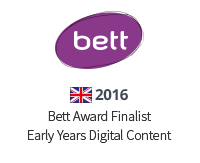 2016 Bett Award Finalist Early Years Digital Content